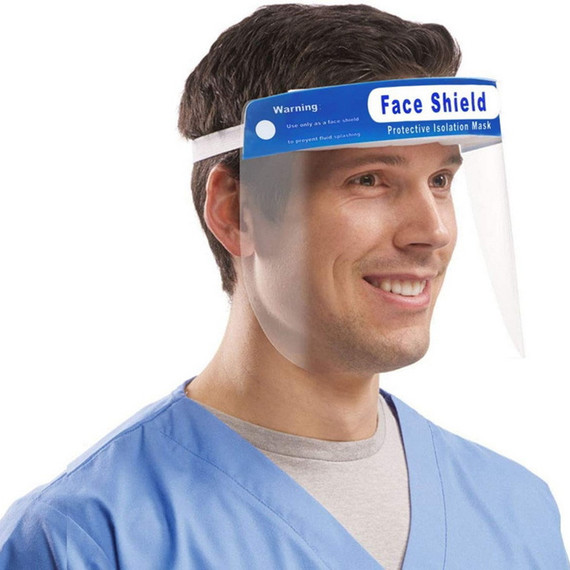 Protective Isolation Mask Anti-fog Disposable Face Shield