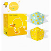 Kids Disposable Face Mask Duck Printed, 30 pcs/box Disposable Face Mask for Kids 0-12 Years Old