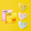 Kids Cloth Face Mask, 3 Pack Cute Duck Print Kids Washable Face Masks 1-12 years Old