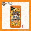 Orange Juice Cat iPhone Case, Trendy Cartoon Juice Cat iPhone Case