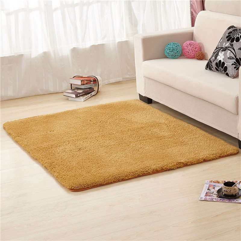 Super Soft Square & Round Anti-skid Shag Rug Indoor Plush